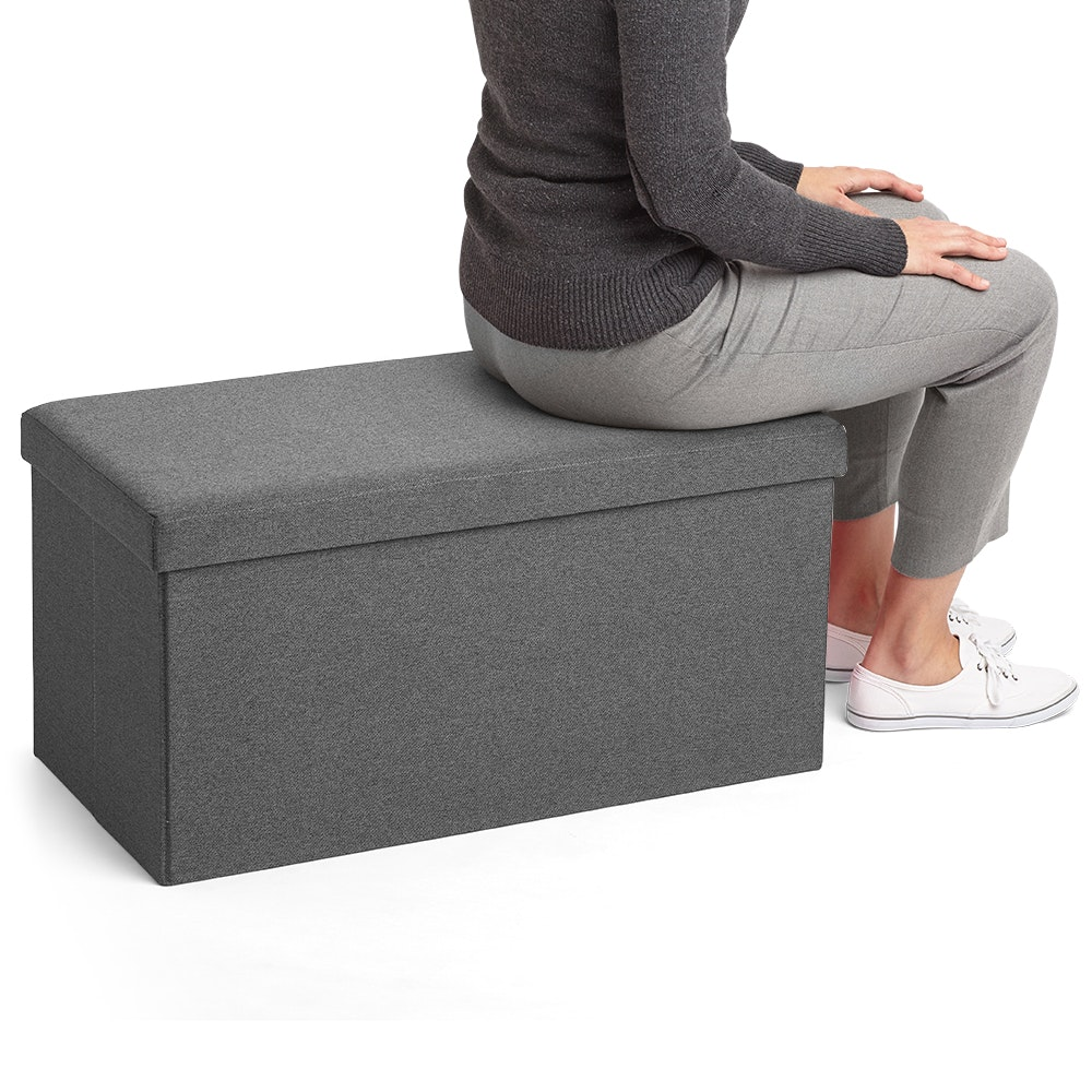 Dark Gray Box Bench,Dark Gray,hi Res ...