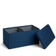 Navy Box Bench,Navy,hi-res