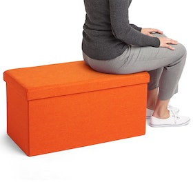Orange Box Bench,Orange,hi-res