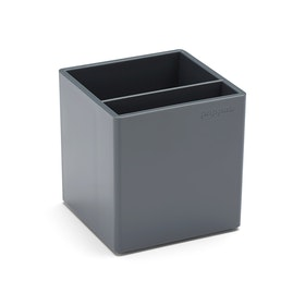 Dark Gray Pen Cup,Dark Gray,hi-res