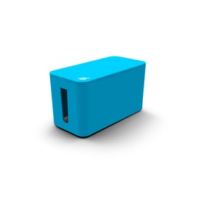 Blue Small Cable Box with Surge Protector,Blue,hi-res