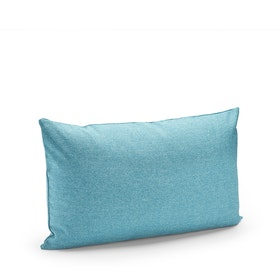 Blue Block Party Lumbar Pillow,Pool Blue,hi-res