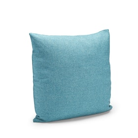 Blue Block Party Square Pillow,Pool Blue,hi-res
