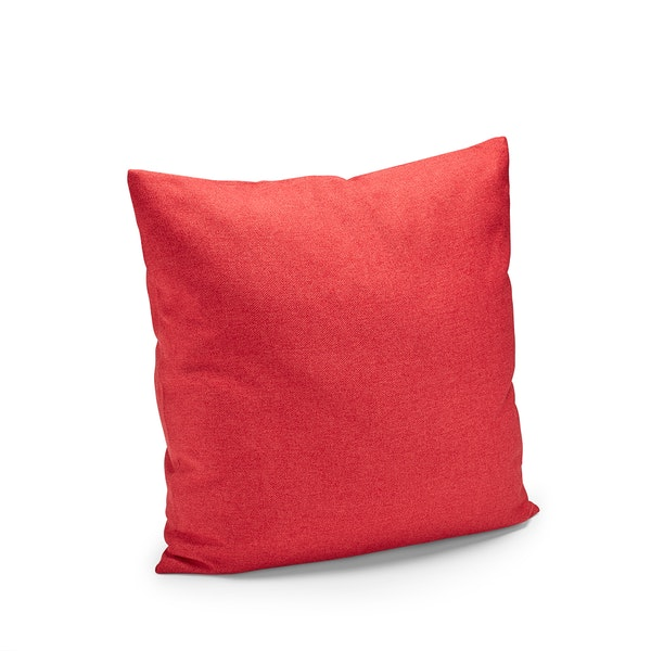 Red Block Party Square Pillow,Red,hi-res