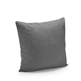 Dark Gray Block Party Square Pillow,Dark Gray,hi-res