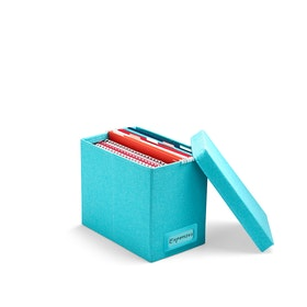 Aqua Medium File Box,Aqua,hi-res