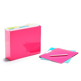 Pink File Box,Pink,hi-res