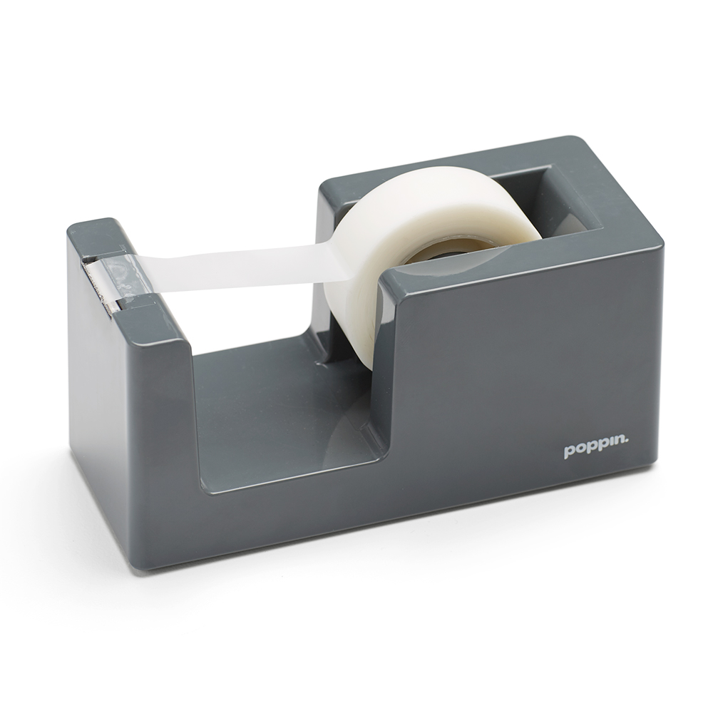 This ArtsOnDesk Modern Art Tape Dispenser Stainless Steel Mirror Polish is designed to serve as an efficient office tool as well as a work of modern art. It can be used with one hand instead of two hands that other dispensers require.