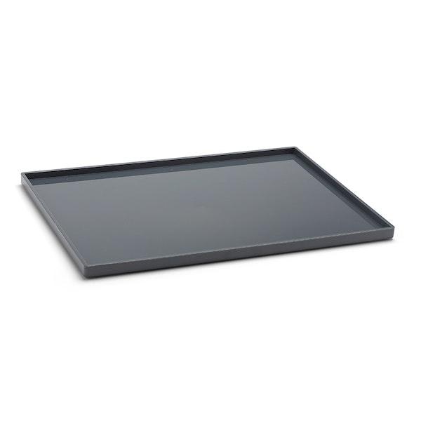 Dark Gray Large Slim Tray,Dark Gray,hi-res