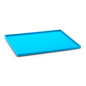Pool Blue Large Slim Tray,Pool Blue,hi-res