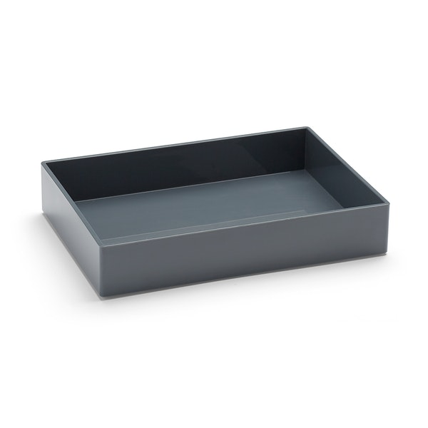 Dark Gray Medium Accessory Tray,Dark Gray,hi-res