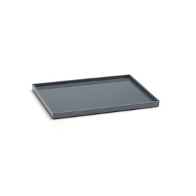 Dark Gray Medium Slim Tray,Dark Gray,hi-res
