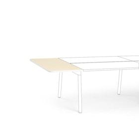 """Light Oak Series A Desk Top Extension, 56"""" x 22"""",Light Oak,hi-res"""
