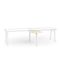 "Series A Return Add On for 57"" Single Desk, White,,hi-res"