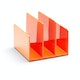Orange Fin File Sorter,Orange,hi-res
