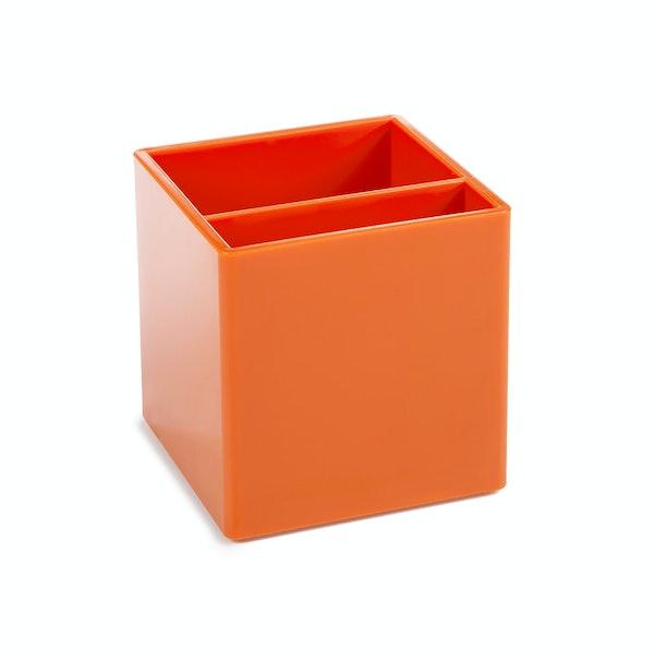 Orange Pen Cup,Orange,hi-res