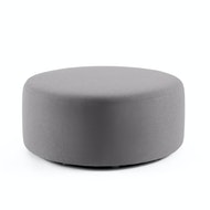 "Block Party Lounge Round Ottoman, 40"",,hi-res"