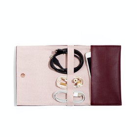 Wine + Blush Cable Organizer,Wine,hi-res