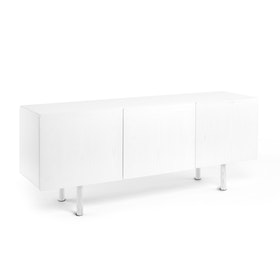 "White Cleo Credenza 70"" Add On Door,White,hi-res"