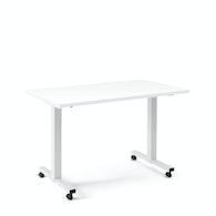 Irons Flip Top Training Table, White Legs,,hi-res