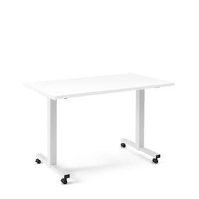 "Irons Flip Top Training Table, White, 47"", White Legs,White,hi-res"