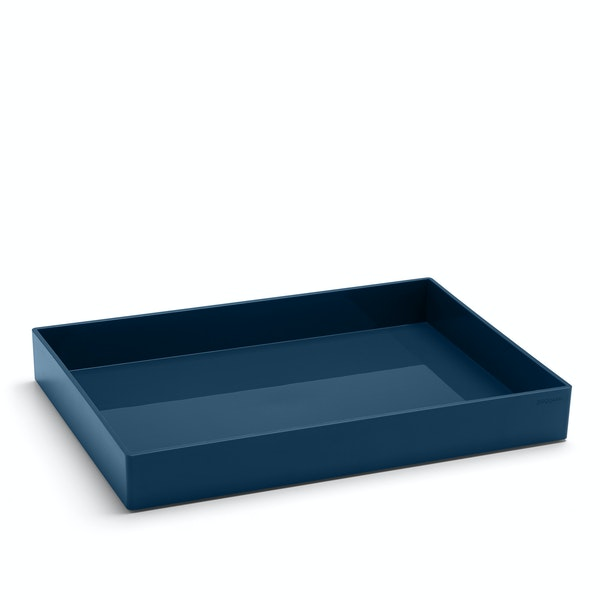 Slate Blue Large Accessory Tray,Slate Blue,hi-res