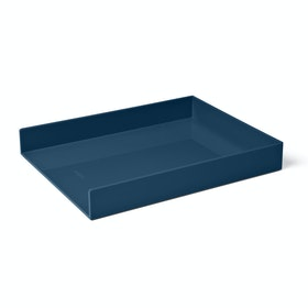 Slate Blue Single Letter Tray,Slate Blue,hi-res