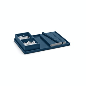 Slate Blue Medium Slim Tray,Slate Blue,hi-res