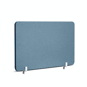 "Slate Blue Fabric Privacy Panel, End Cap, 27"",Slate Blue,hi-res"