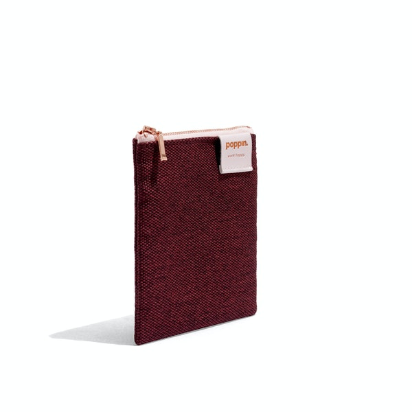 Wine Medium Cord Pouch,Wine,hi-res