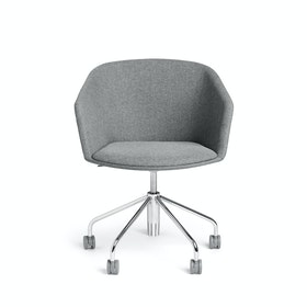 Gray Pitch Meeting Chair