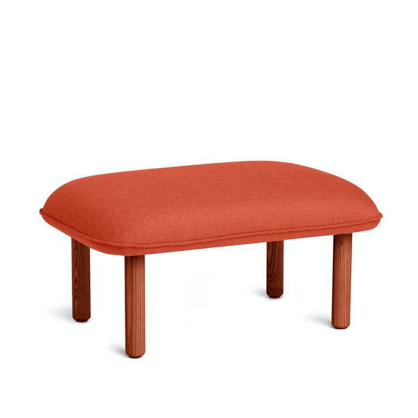Brick QT Privacy Lounge Ottoman,Brick,hi-res