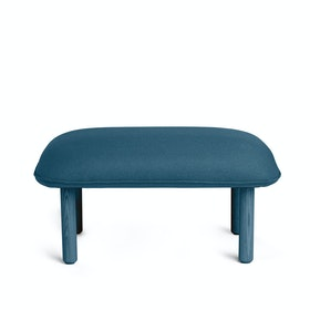 Dark Blue QT Privacy Lounge Ottoman,Dark Blue,hi-res