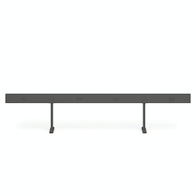Charcoal Boom Power Rail for 4, 60""