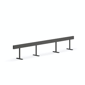 Charcoal Boom Power Rail for 6, 50""
