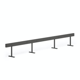 Charcoal Boom Power Rail for 6, 60""