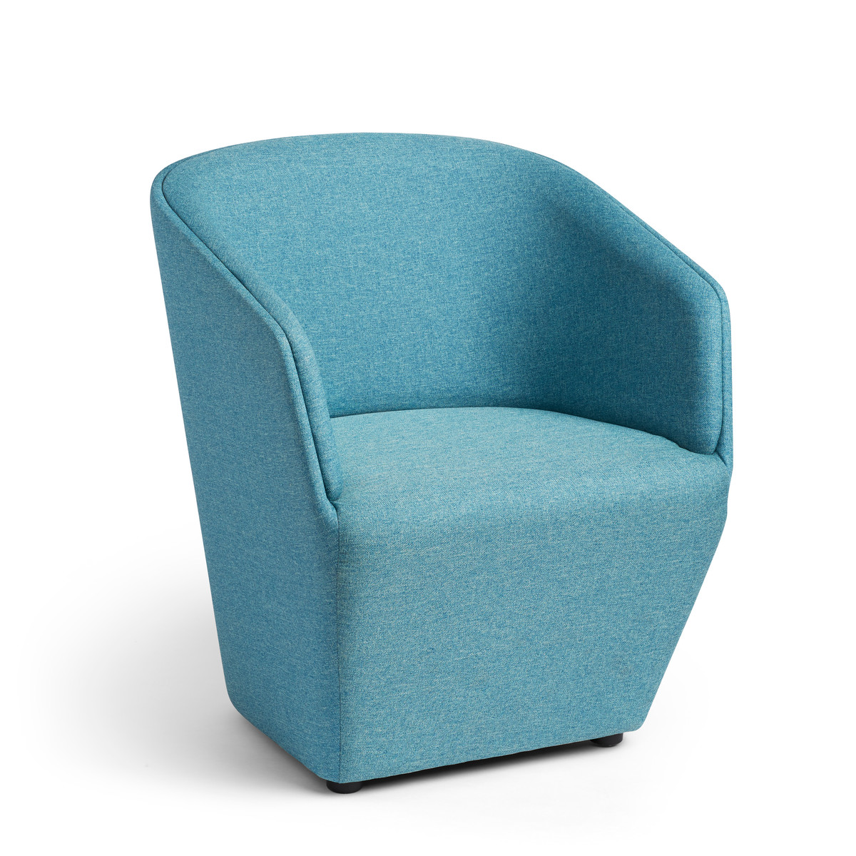 Teal Chair Blue Pitch Club Chair Modern Office Furniture Poppin