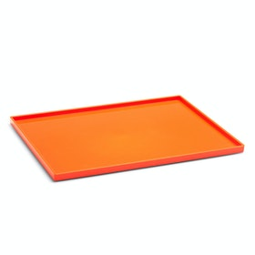 Orange Large Slim Tray,Orange,hi-res