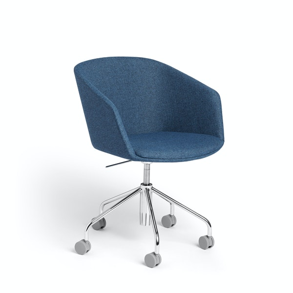 Dark Blue Pitch Meeting Chair,Dark Blue,hi-res