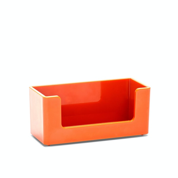 Orange Business Card Holder,Orange,hi-res