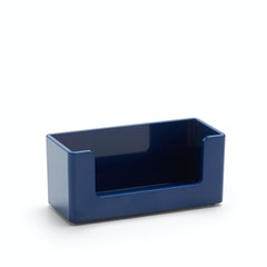 Desk accessories for offices poppin navy business card holdernavyhi res reheart Gallery