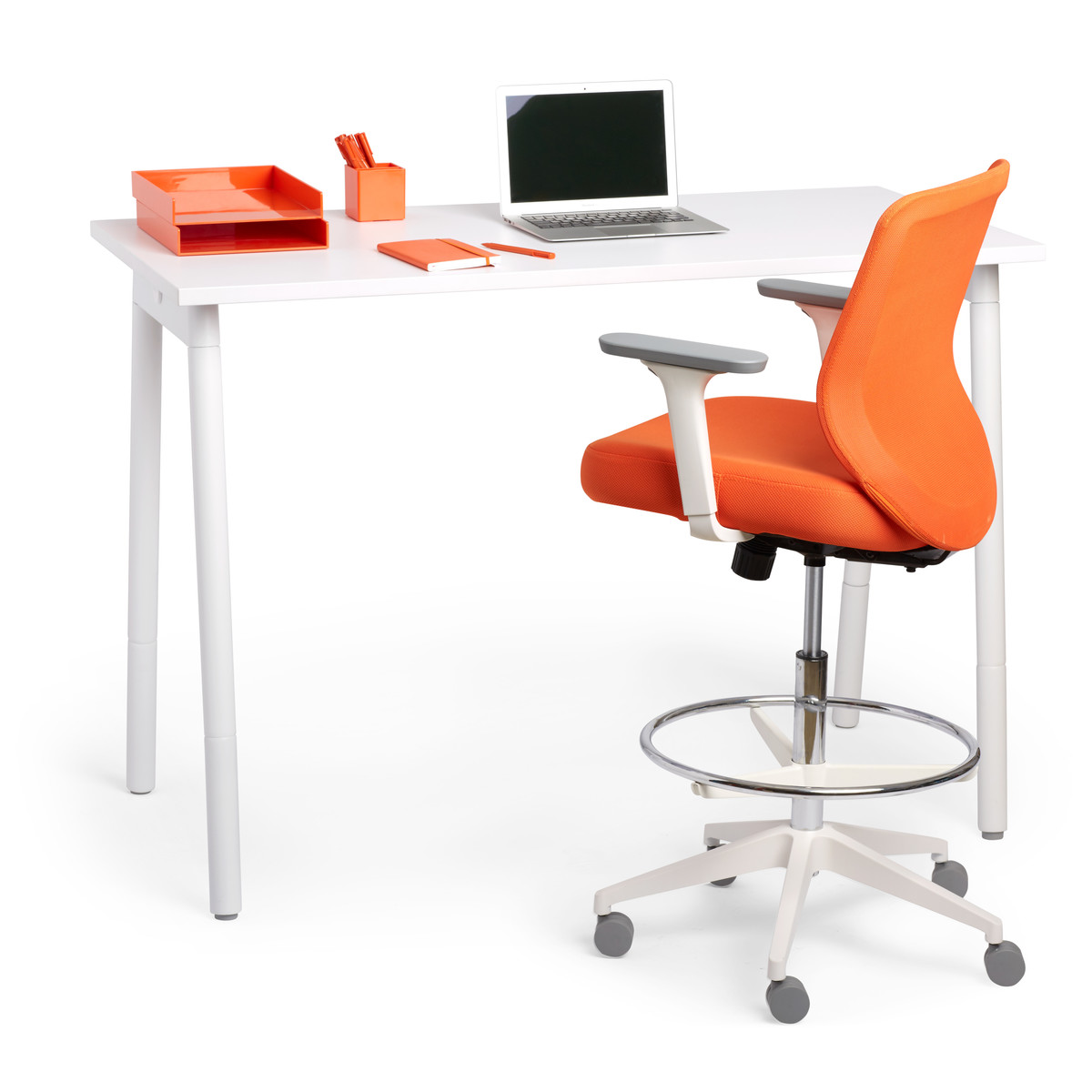 Colorful Desk Home Office Chairs Modern Office Furniture Poppin