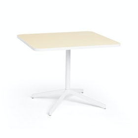 "Light Oak Touchpoint Meeting Table, 36"", White Legs,Light Oak,hi-res"