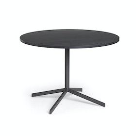 "Dark Oak Touchpoint Meeting Table, 42"", Charcoal Legs,Dark Oak,hi-res"