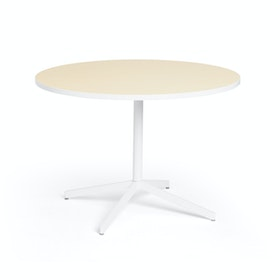 "Light Oak Touchpoint Meeting Table, 42"", White Legs,Light Oak,hi-res"