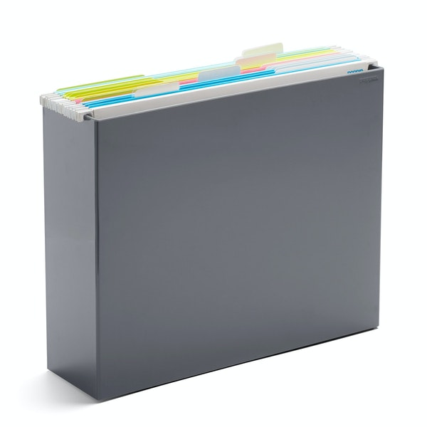 Dark Gray File Box,Dark Gray,hi-res