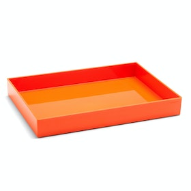 Orange Large Accessory Tray,Orange,hi-res