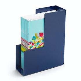 Navy Magazine File Box,Navy,hi-res