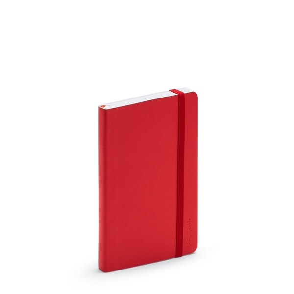 Red Small Soft Cover Notebook,Red,hi-res