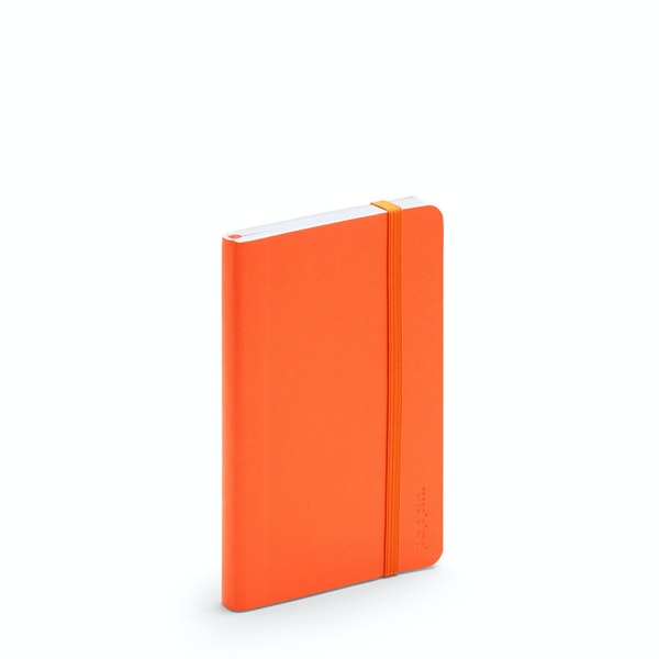 Orange Small Soft Cover Notebook,Orange,hi-res